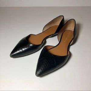 Black Banana Republic Flats